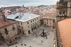 Santiago de Compostela, Galizia, Spagna Fotografia Stock Libera da Diritti