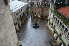 Santiago de Compostela stock photos