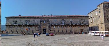 Santiago De Compostela, Hostal De Los Reyes catà ³ licos - obrazy stock