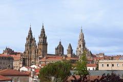 Santiago de Compostela in Spain Stock Photography