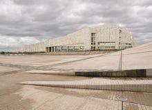 SANTIAGO DE COMPOSTELA, SPAIN - NOVEMBER 13: City of Culture 5 Stock Image