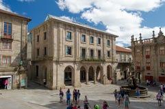 Santiago de Compostela, Spain Royalty Free Stock Photos
