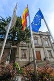 Santiago de Compostela - Spanien lizenzfreie stockfotografie
