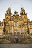 Santiago de Compostela Spanien Royaltyfria Bilder