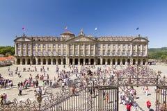 Santiago de Compostela, Spanien lizenzfreie stockfotos
