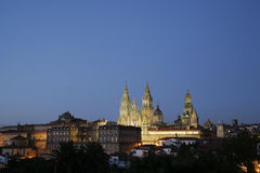 Santiago de Compostela, Spanien Lizenzfreie Stockfotografie