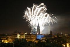 Santiago de Compostela, Spanien Stockfoto