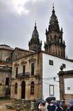 Santiago DE Compostela, Spanje stock foto