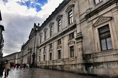 Santiago DE Compostela, Spanje stock afbeeldingen