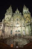 Santiago- de Compostelakathedrale Lizenzfreies Stockbild