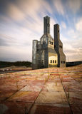 Hejduk Towers in Santiago de Compostela Royalty Free Stock Image
