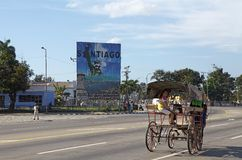 Santiago de Cuba Royaltyfria Bilder