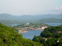 Santiago de Cuba Bay Royalty Free Stock Photos