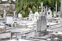 Santiago de Cuba cemetery Royalty Free Stock Photo