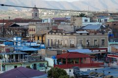 Santiago de Cuba city view Royalty Free Stock Image