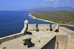 Santiago de Cuba fortress, Cuba Stock Images