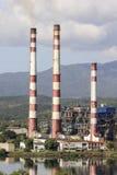 SANTIAGO DE CUBA Kuba-November 23, 2015: Thermoelectric växt`-Antonio Maceo `, Arkivbild