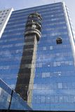 Santiago De Reflex chile tower Zdjęcia Stock