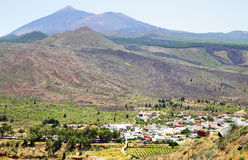 Santiago del Teide Stock Photo