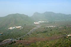Santiago del Teide and motoway, Stock Image