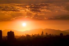 Santiago do Chile Imagens de Stock