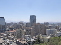 Santiago doet Chili Stock Afbeelding