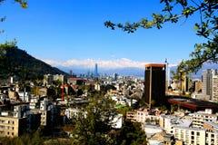 Santiago doet Chili Royalty-vrije Stock Foto's
