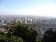 Santiago doet Chili Stock Foto
