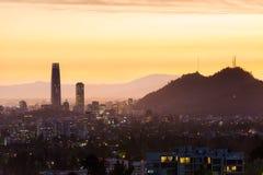Santiago doet Chili Royalty-vrije Stock Afbeeldingen