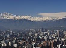 Santiago fa il Cile Fotografie Stock Libere da Diritti