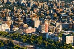 Santiago fa il Cile Fotografia Stock