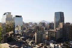 Santiago fa il Cile Immagini Stock