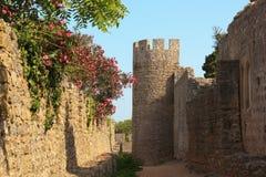 Santiago faz o castelo de Cacem Foto de Stock