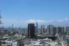 Santiago faz o Chile Fotos de Stock Royalty Free