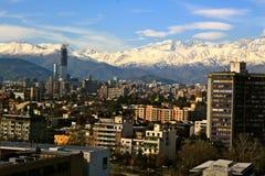 Santiago faz o Chile Imagem de Stock