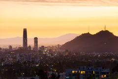 Santiago faz o Chile imagens de stock royalty free
