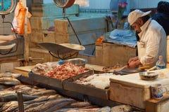 Santiago Fish Market Stock Image