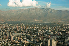 Santiago fo Chile royalty free stock image