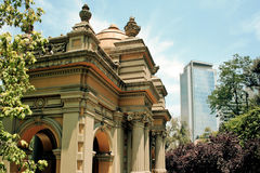 Santiago fo Chile Stock Photography