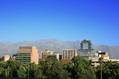 Santiago fo Chile Stock Images