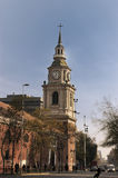 Santiago font le Chili Photos stock