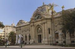 Santiago font le Chili Photographie stock libre de droits