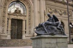 Santiago font le Chili Photo stock