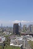 Santiago hace Chile Foto de archivo libre de regalías