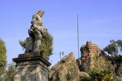 Santiago hace Chile Imagen de archivo