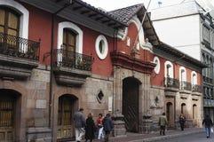 Santiago hace Chile Fotos de archivo