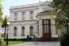 Santiago hace Chile Fotos de archivo libres de regalías