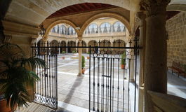 Santiago Hospital in Úbeda, Spain Stock Images
