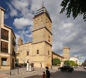 Santiago Hospital in Úbeda, Spain Royalty Free Stock Photography