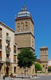 Santiago Hospital, Ubeda, Andalusia, Spain. Hospital de Santiago bell tower along Carrera Obispo Cobos Mesones, Ubeda, Jaen Province, Andalusia, Spain, Western Royalty Free Stock Images